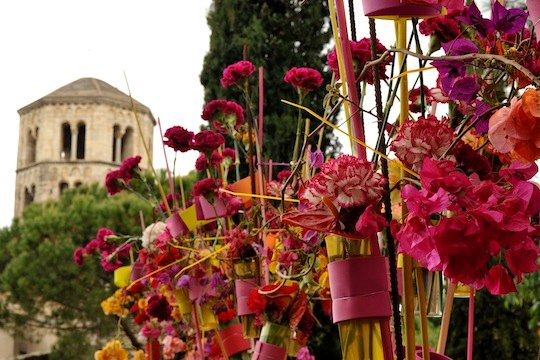 Visiting Temps de Flors in Girona