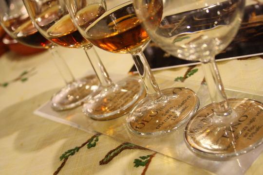 Bodegas Gutierrez Colosia sherry tasting