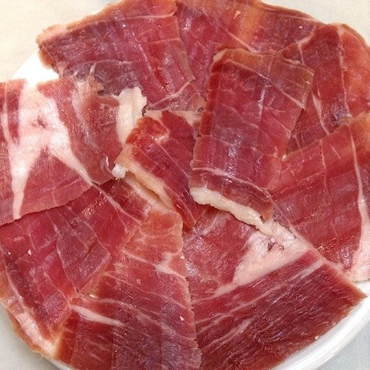 jamón from Teruel