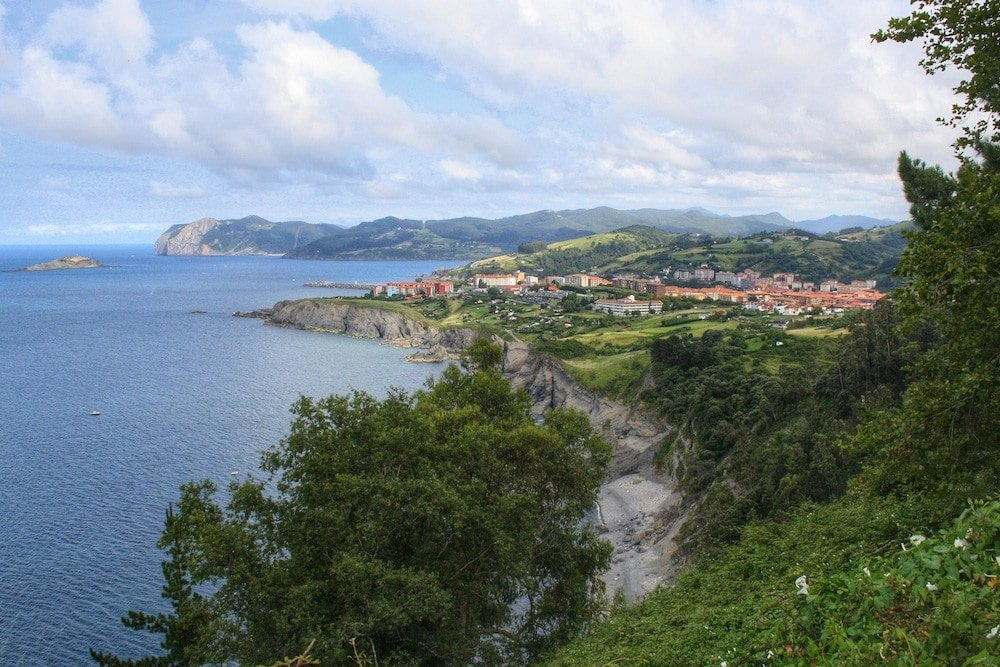 View of Basque Country