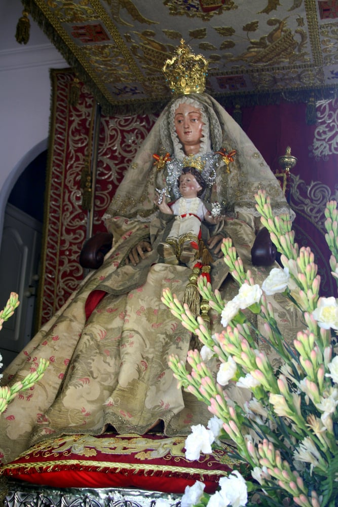 virgin in Sanlucar de Barrameda