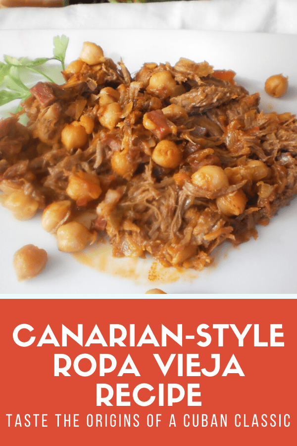 If you're not sure how to make authentic Canarian ropa vieja, good news: it's easy, healthy and comes together in one pot! This predecessor of the famous Cuban recipe is one of those dinners that you'll make time and time again. Plus, it's perfect for families!
