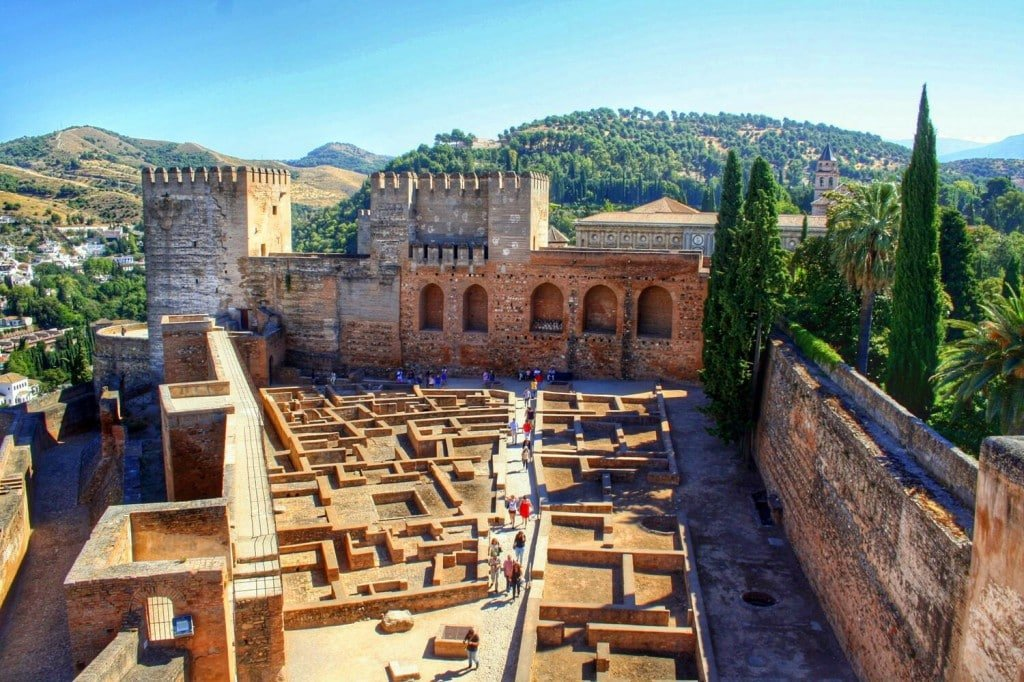 visiting the Alhambra fortress