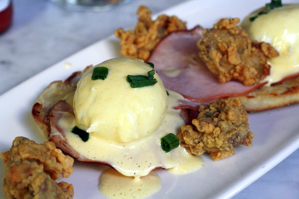 best eggs Benedict in New Orleans