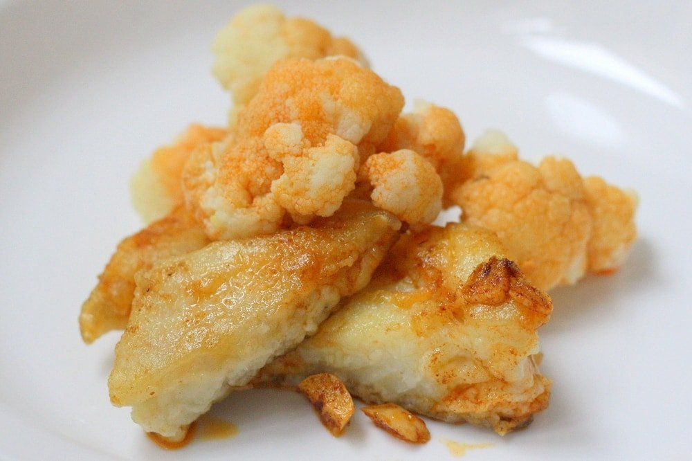 Cod with cauliflower recipe