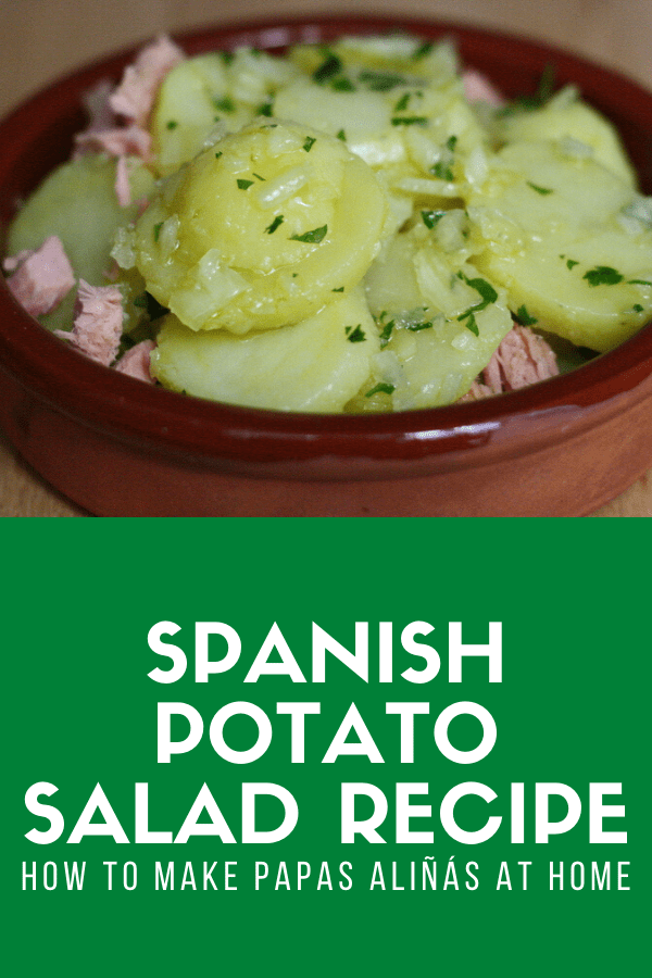 Patatas aliñadas are a traditional and authentic tapa from Andalusia in southern Spain, and a perfect addition to any kind of party like a barbecue. Similar to potato salad, this recipe is easy and delicious, using products you can find at any grocery store.