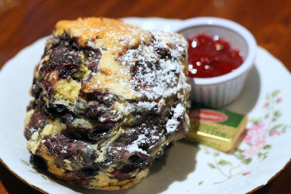 blueberry scone in dublin