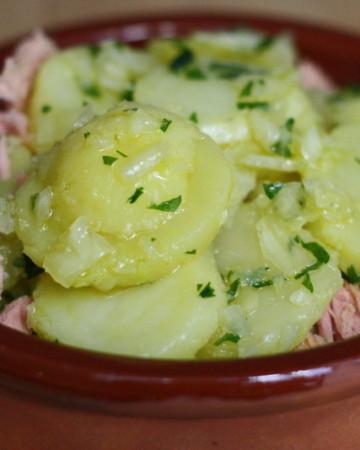 patatas aliñadas recipe