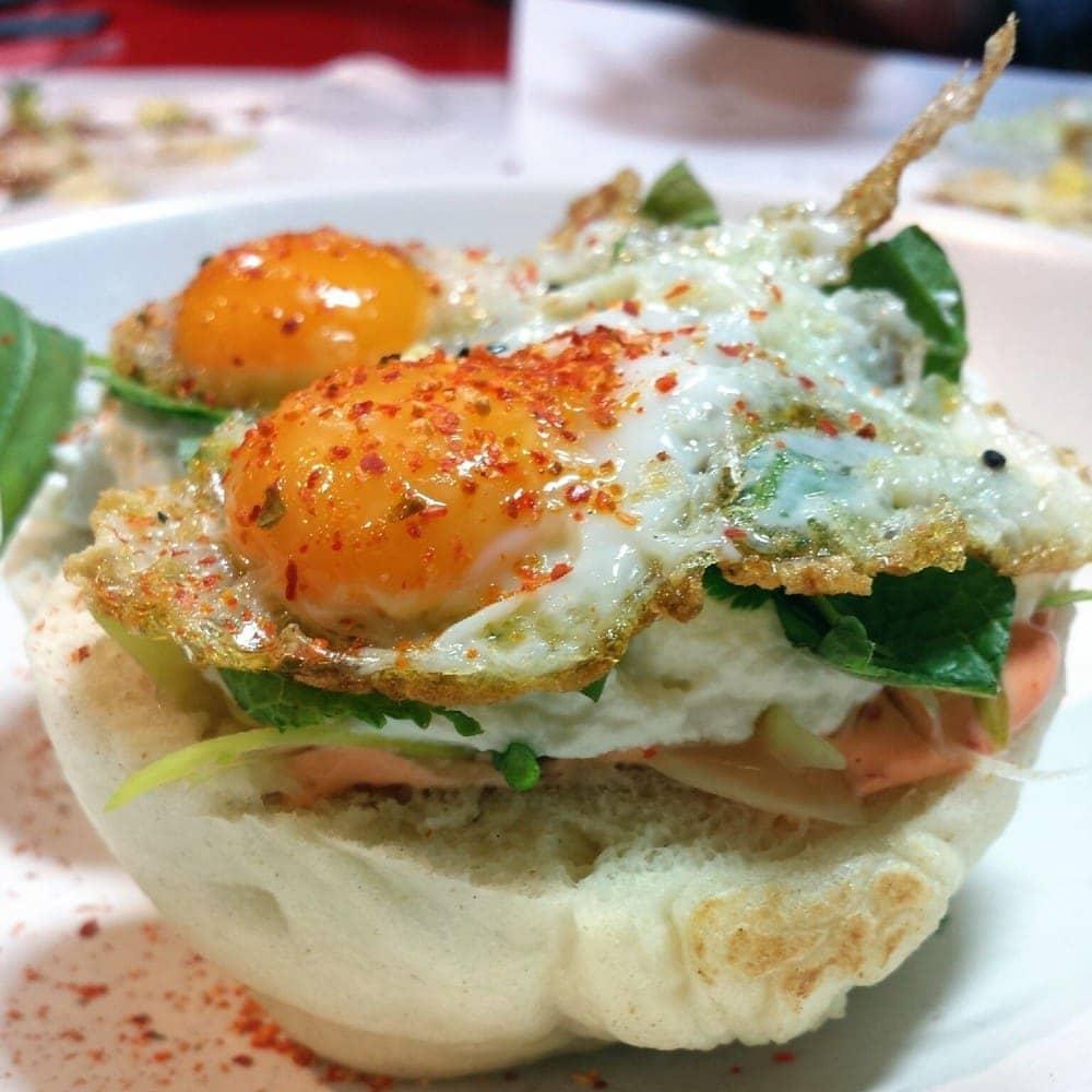 streetxo club sandwich - bao fusion