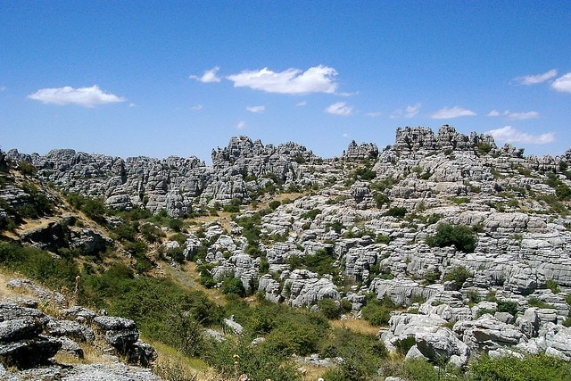 One of the best day trips from Malaga is to visit Antequera where you can see the impressive Torcal!
