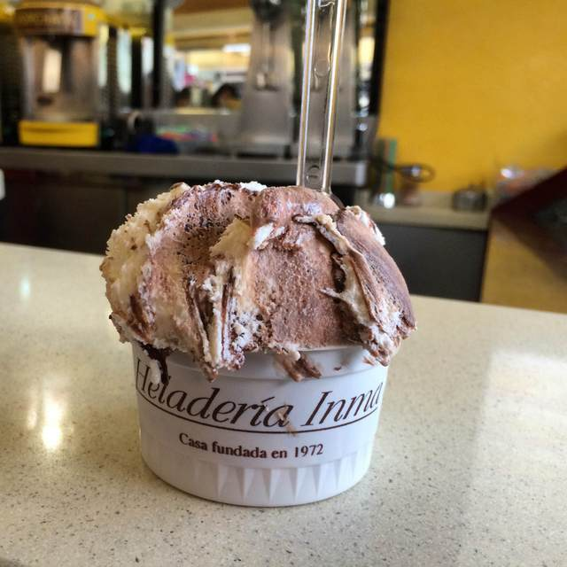 Cool off in Malaga with a summer treat of ice cream at Heladeria Inma