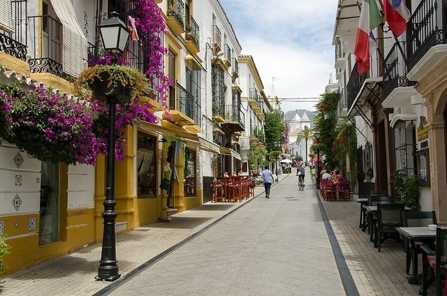 The Old Town of Marbella is absolutely beautiful.