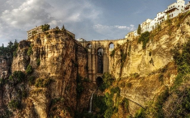 Ronda is one of our favorite day trips from Malaga with its gorge and beautiful historic town.