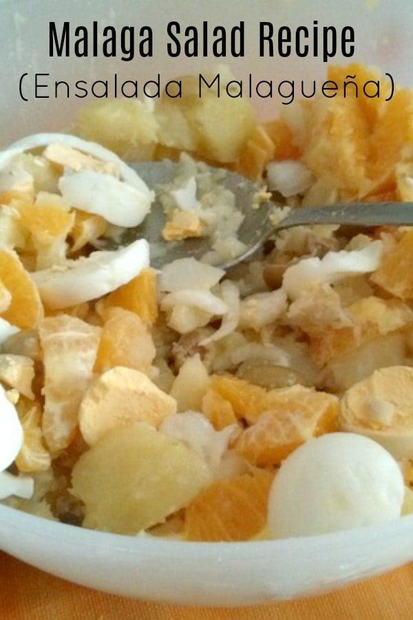 Malaga Salad Recipe