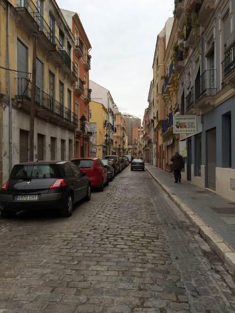 Neighborhoods in Malaga: Calle Ancha del Carmen, El Perchel, Malaga