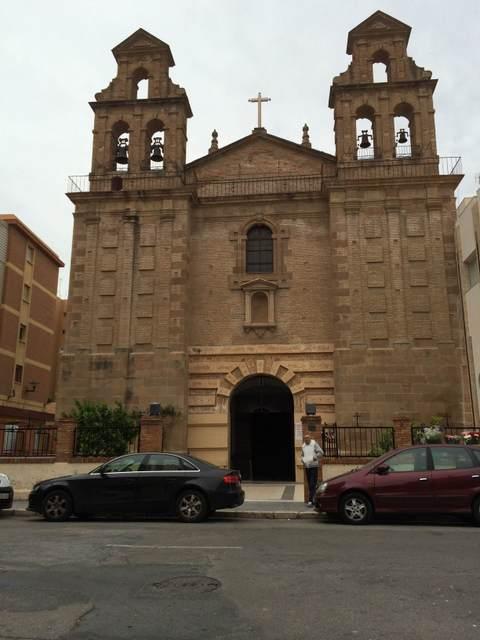 "Neighborhoods in Malaga: El Perchel, Church of ""El Carmen"""