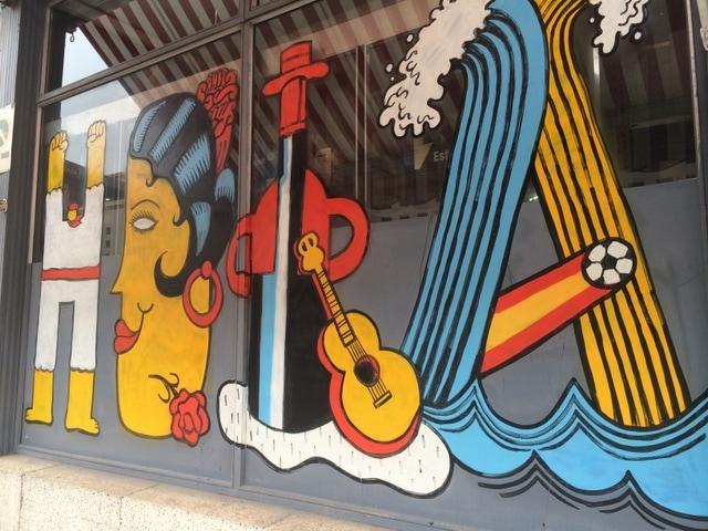 Malaga's Urban Street Art: Andy Rivas