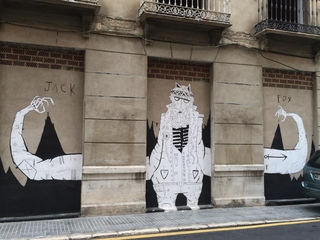 Malaga Street Art Free Expression Walls