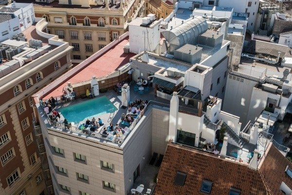 Best Rooftop Terraces in Malaga to Beat the Heat and Cool Off