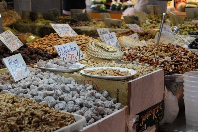 Foodie things to do in Malaga: eat at the market