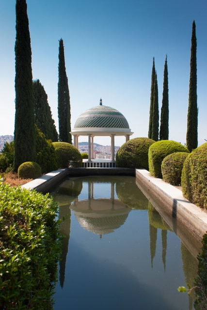 A visit to the botanical garden is one of the best things to do in Malaga in May