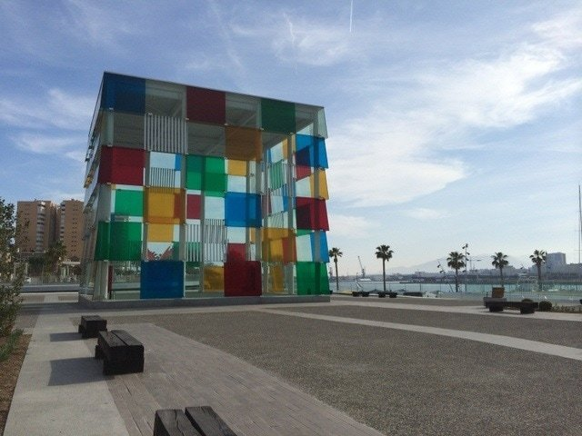 Pompidou Center, one the best museums in Malaga