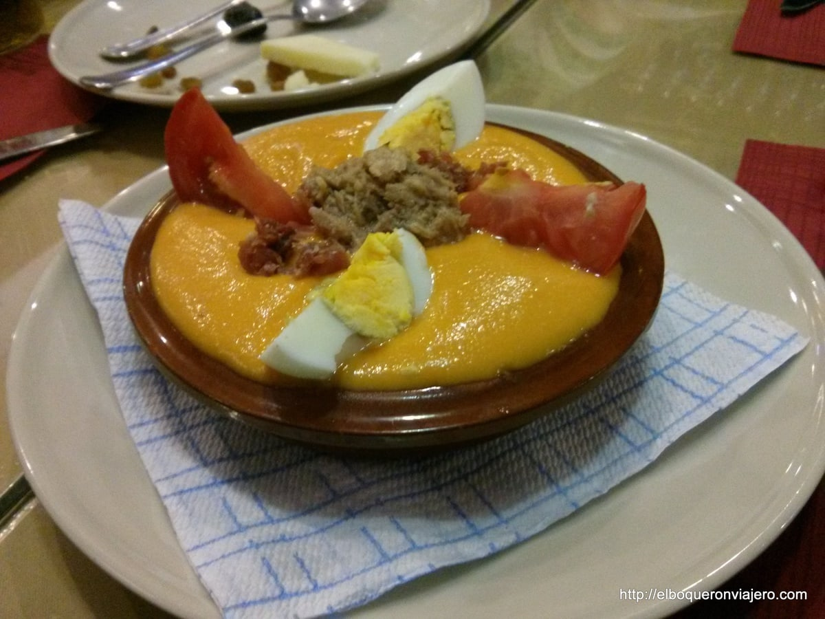 Typical Dishes of Malaga: Porra Antequerana