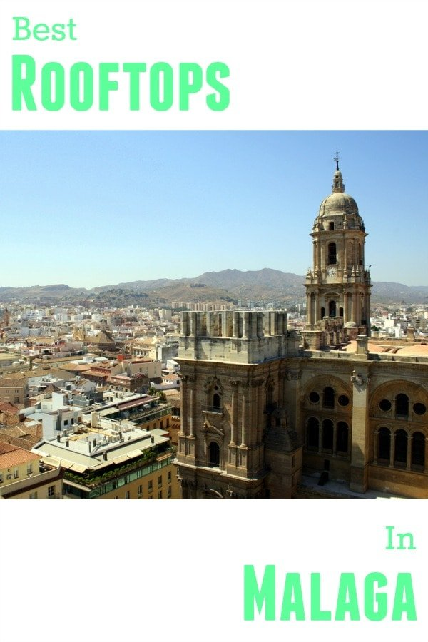 The best rooftop bars in Malaga are found at hotels in the city center. And, since Malaga is a relatively small city, you can get a good view from any one of them. Some are better for seeing the port and others if you want a view of the historic center, or even a view of the moorish fort (the Alcazaba). But which are our favorites? Here's our top five rooftop terraces in Malaga!