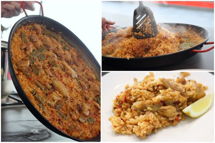 Best Fall foods in Spain: paella valenciana