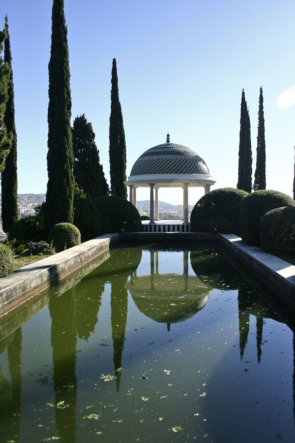 If you're visiting Malaga in July, don't miss a night visit to the lovely botanical gardens!
