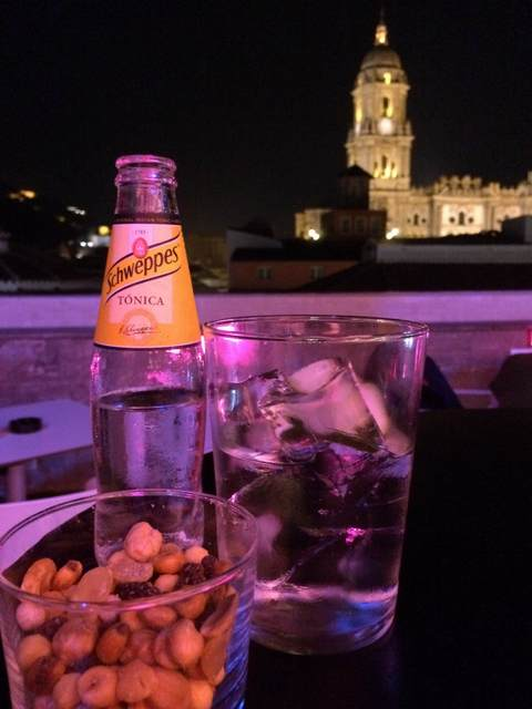Cool off in Malaga at a rooftop terrace