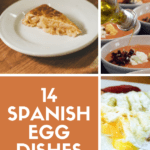 Eggs are one of the most commonly consumed products in Spain. After all, they're a great source of protein and taste delicious with meat, veggies, or on their own! But unlike in many other countries, eggs aren't usually eaten for breakfast. Instead, egg-based dishes such as tortilla and huevos rotos make an appearance at meals throughout the rest of the day. These 14 Spanish egg dishes are a great place to start! #Spain #foodie