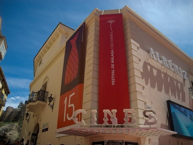 A great way to cool off in Malaga is at the movies.