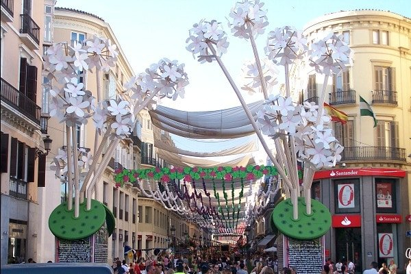 One of the things to do in Malaga in August is visit our Feria!