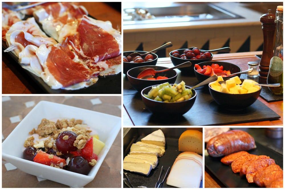 Delicious breakfast at Cas Xorc hotel