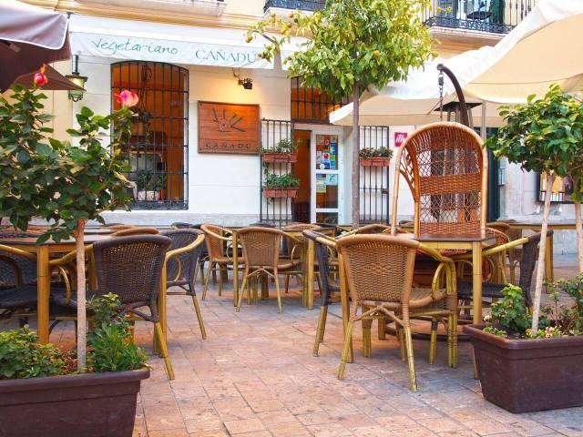 One of the Vegetarian Restaurants in Malaga: Cañadú