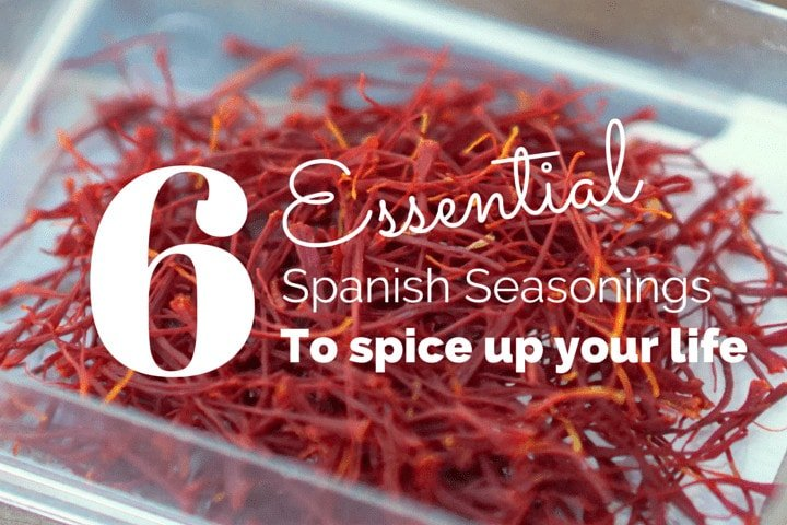 Essential Spanish seasonings and Spanish spices