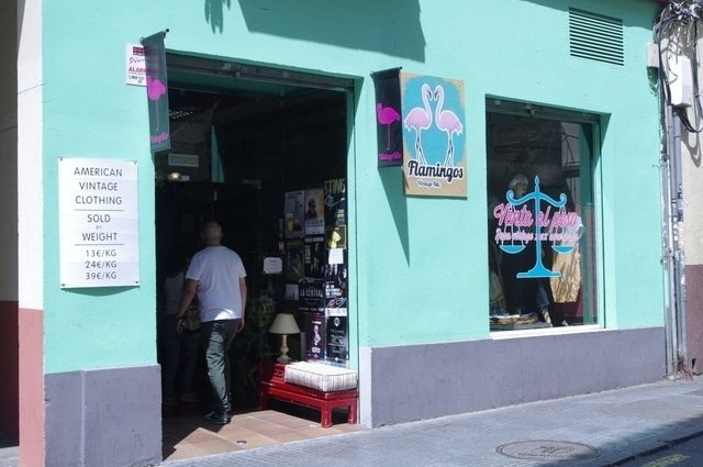 Flamingo is one of our favorite vintage stores in Malaga