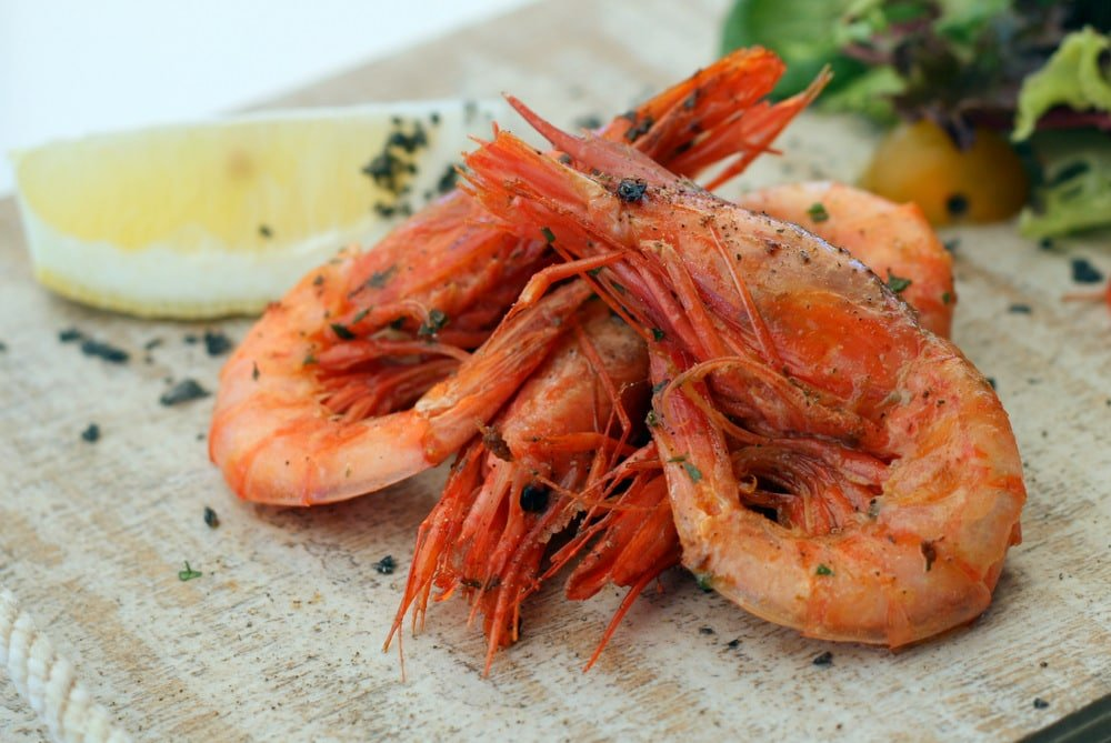 What to Eat in Spain in November: Red Prawns