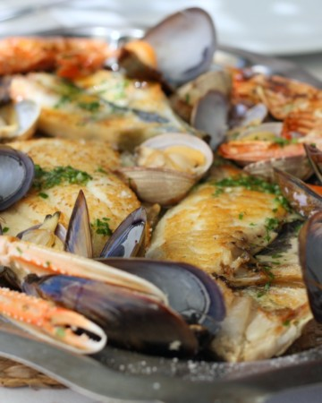 What to eat in Mallorca: Grilled seafood