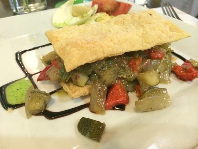 Great vegetarian food in Malaga to be found at El Calafate