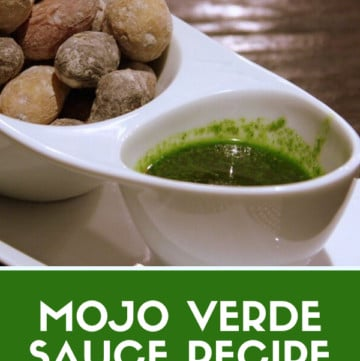 One of the most traditional, authentic dishes from the Canary Islands is mojo verde sauce. It's a classic when paired with typical dishes such as papas arrugadas, making for a quick and easy vegetarian dish! Today, I'll show you how to make the sauce itself with this tried-and-true recipe. #Spain #CanaryIslands