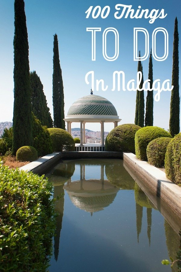 There's no shortage of things to do in Malaga. In fact, this list contains 100 of them.