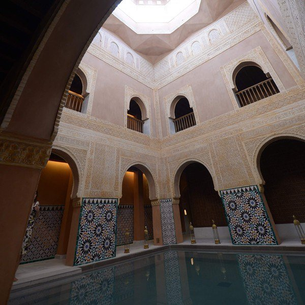 A visit to this place, the Hammam Al-Ándalus, is one of the best romantic things to do in Malaga.