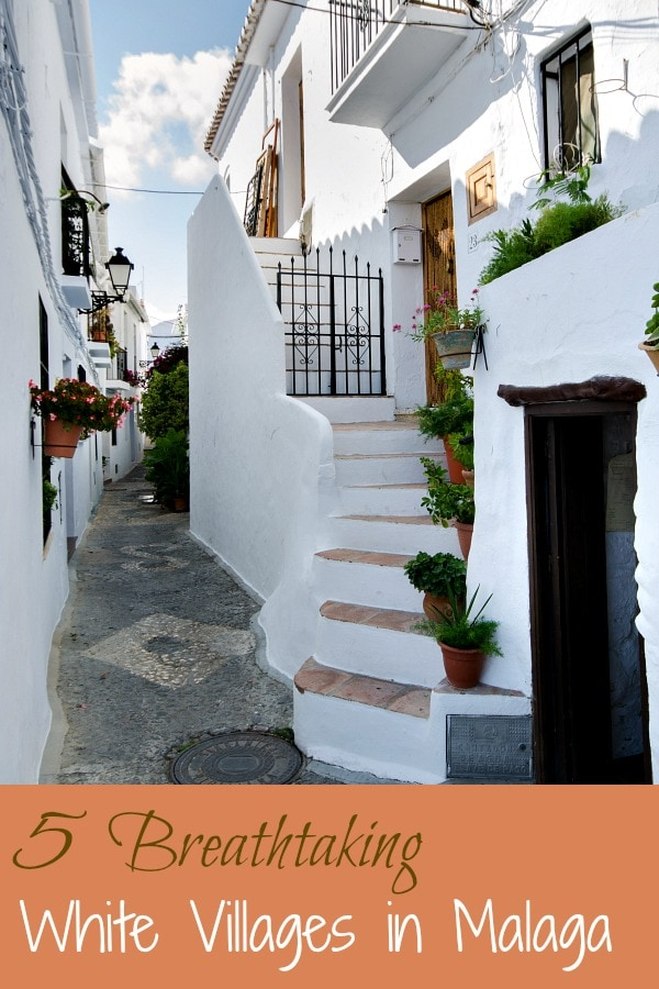 Breathtaking white villages in Malaga