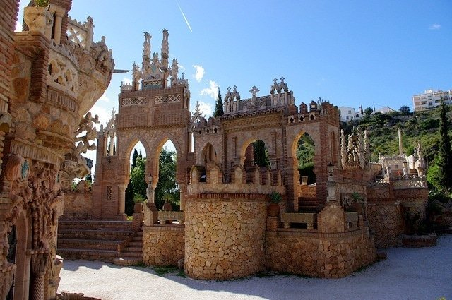 One of our date ideas in Malaga is to explore Colmares Castles