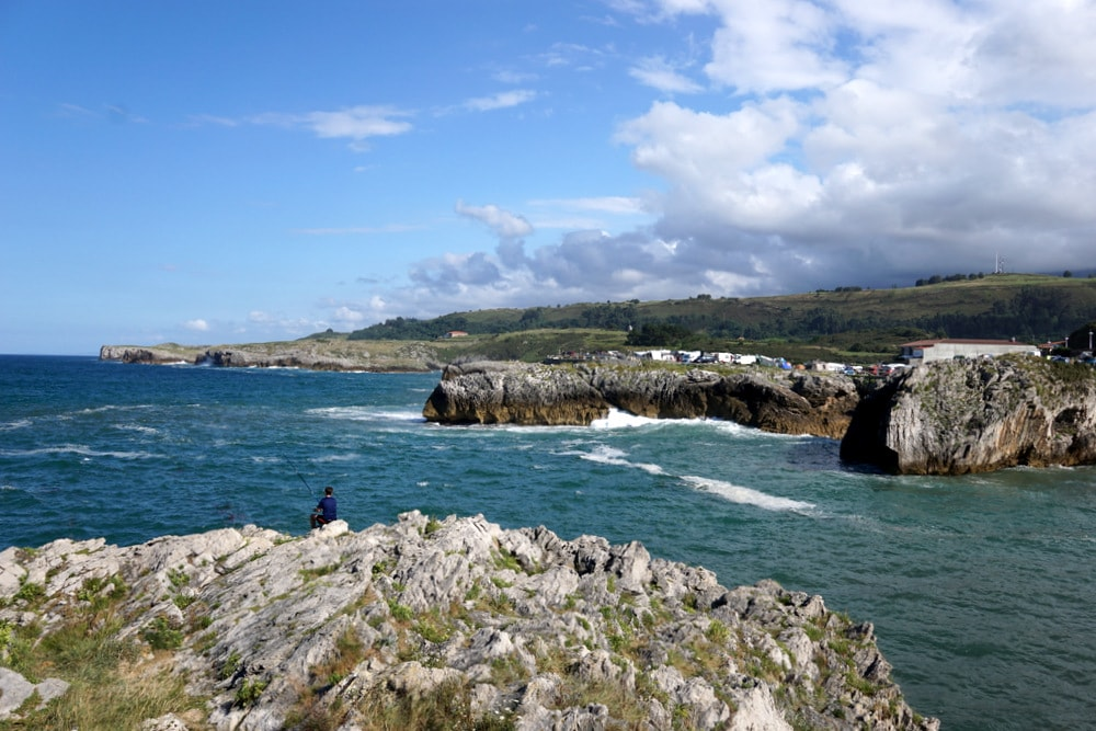 Visiting Llanes, Asturias on our road trip through Asturias.