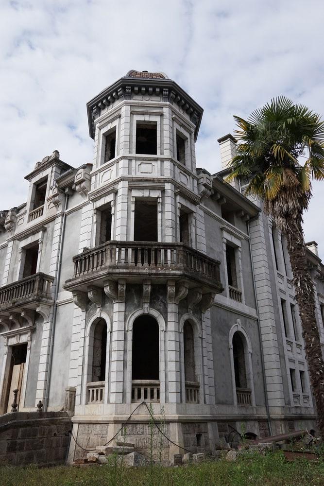 An abandoned Casa de Indiano in Cangas de Onis.
