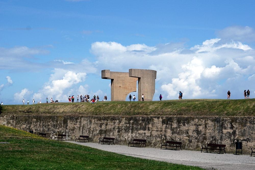 Gijón monument