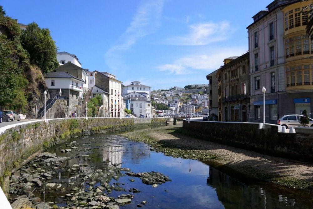 Visiting Luarca Asturias